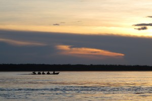 Evening Boat Ride on the Amazon - Photo by Lee Beavington