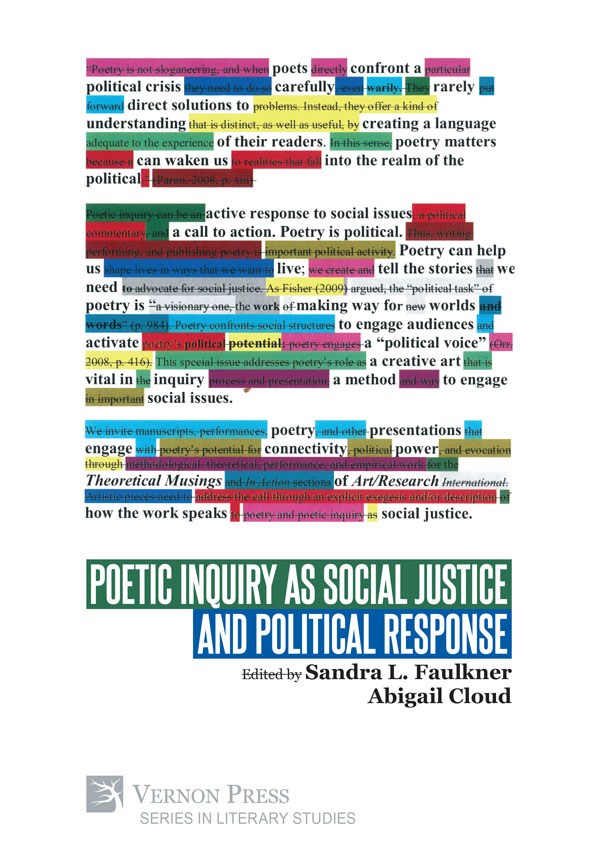 Poetic Inquiry social justice 2019
