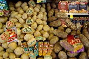 """Potatoes and Pringles"""